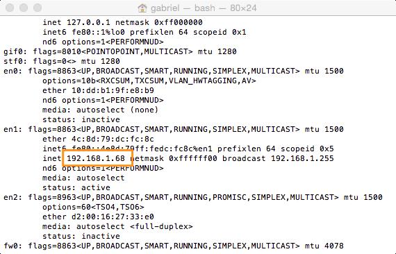Server IP