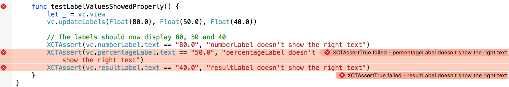 unit-test-demo-fail