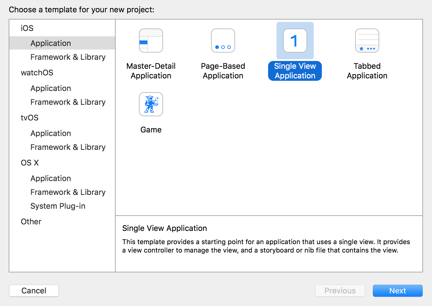 xcode-new-project