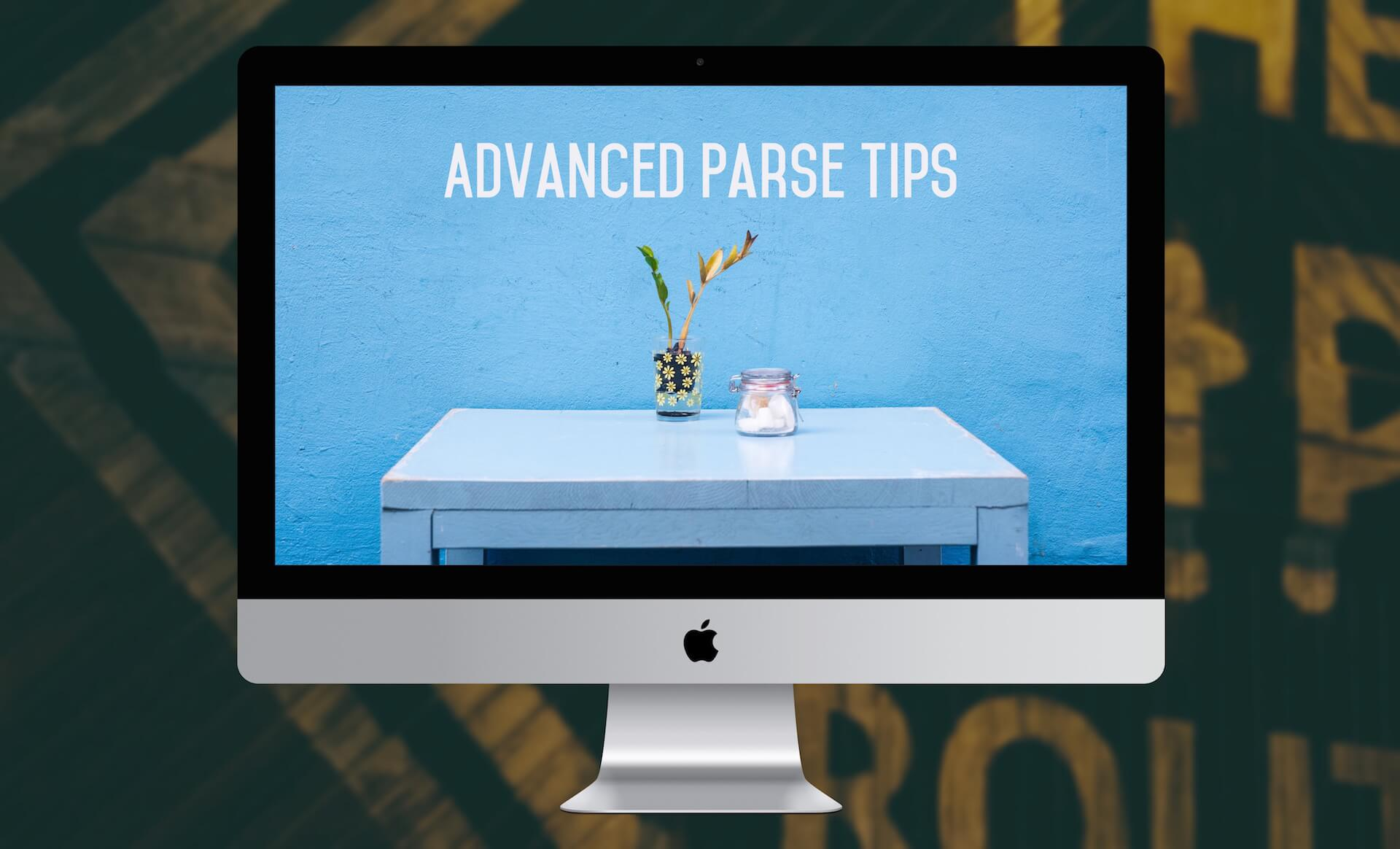 Advanced Parse Tips: PFObject Subclassing, Caching, ACL and