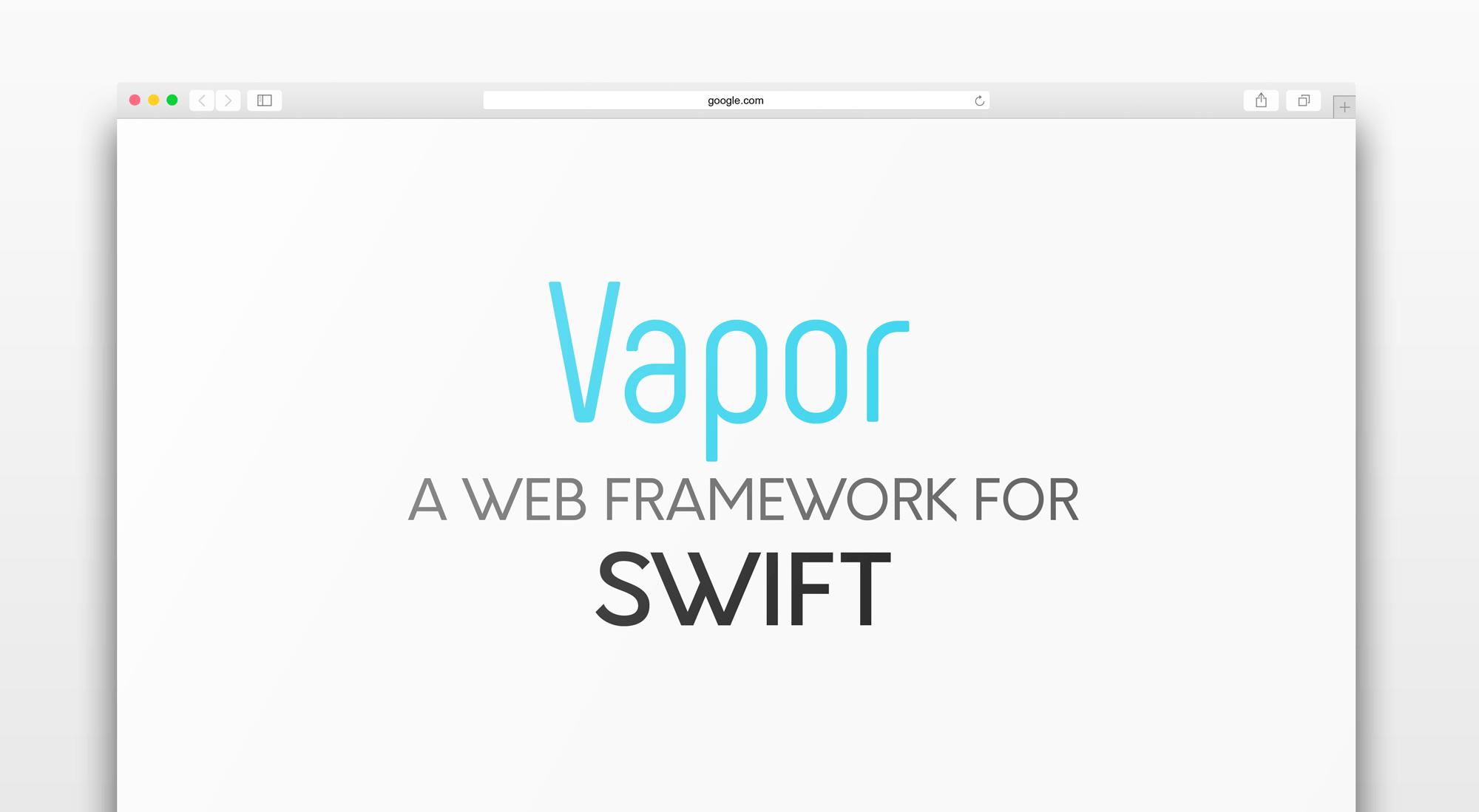 Building Your First Web App In Swift Using Vapor Appcoda Wiring Instructions Code