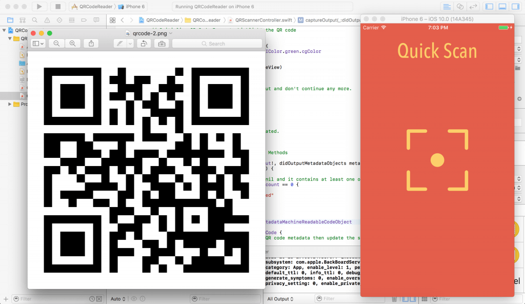 Building a Barcode and QR Code Reader in Swift 4 and Xcode 9