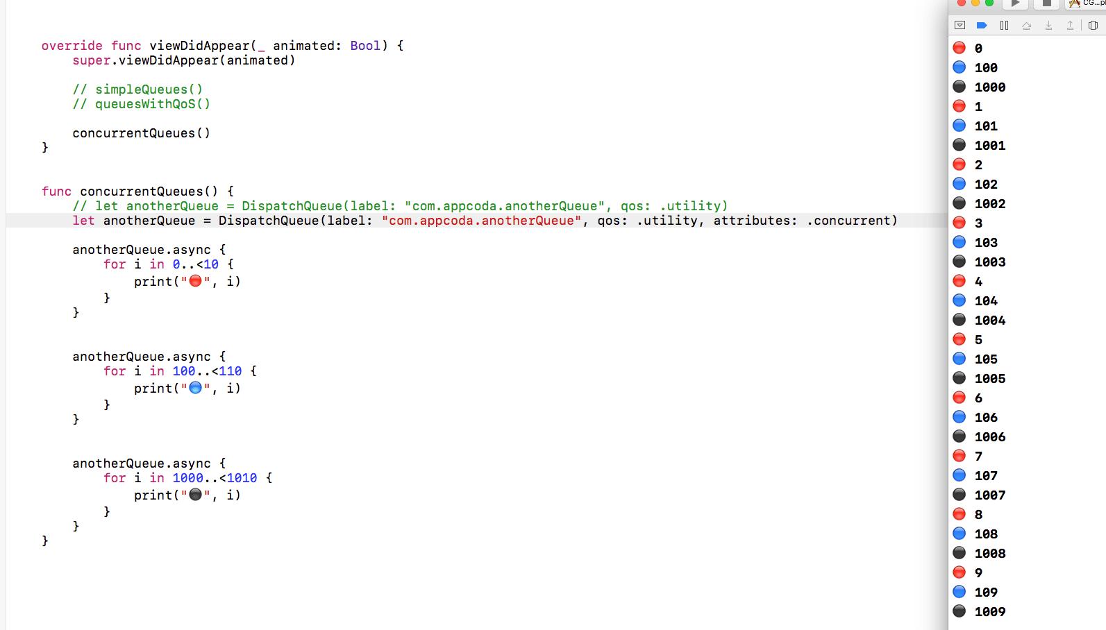attributes: .concurren参数