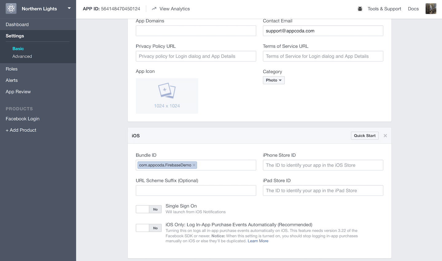 Using Firebase to Integrate Facebook Login in iOS Apps 4