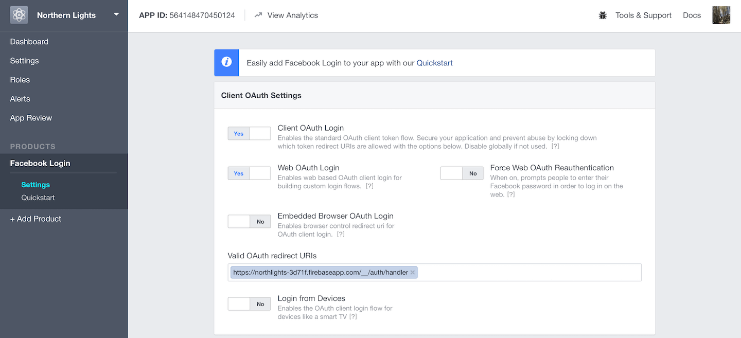 Using Firebase to Integrate Facebook Login in iOS Apps 6