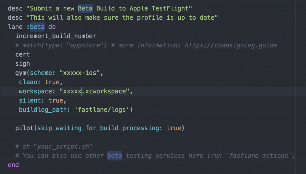 Getting Started with Fastlane for Automating Beta Testing and App Deployment 13