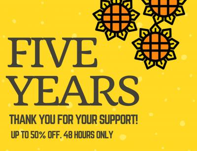 Celebrating 5 Years of AppCoda