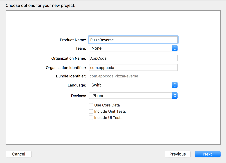 new-xcode-proj