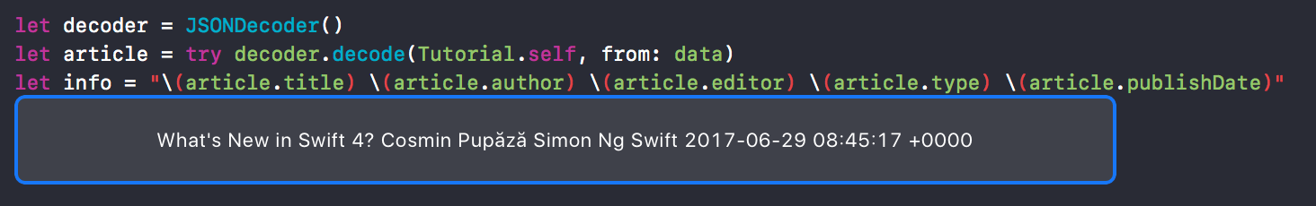 swift-json-decode