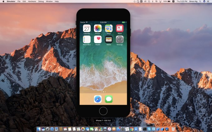 iOS Simulator Tips and Tricks in Xcode 9
