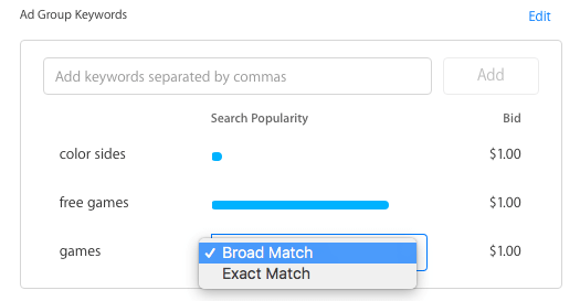 broad-exact-match
