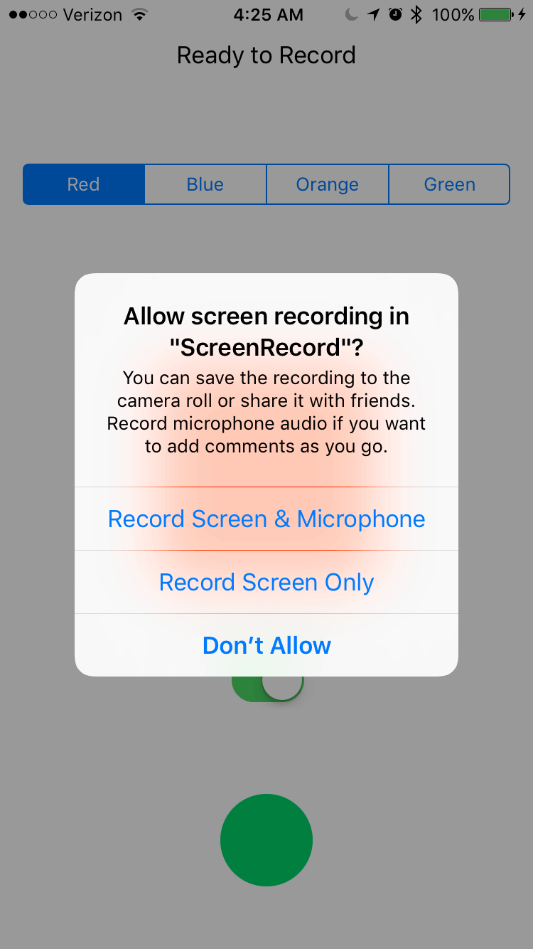 Introduction to ReplayKit: Building a Simple Screen Recording App 7