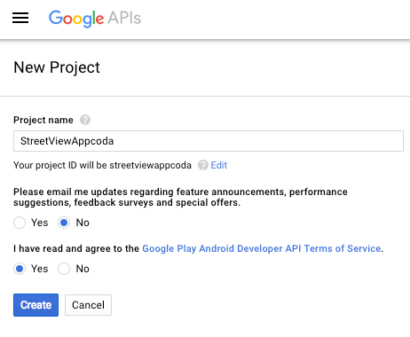 new_project_in_google_apis