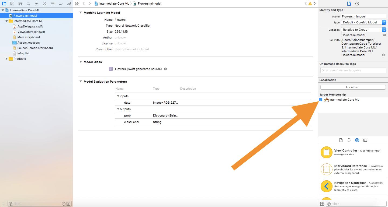 xcode-target-coreml-model