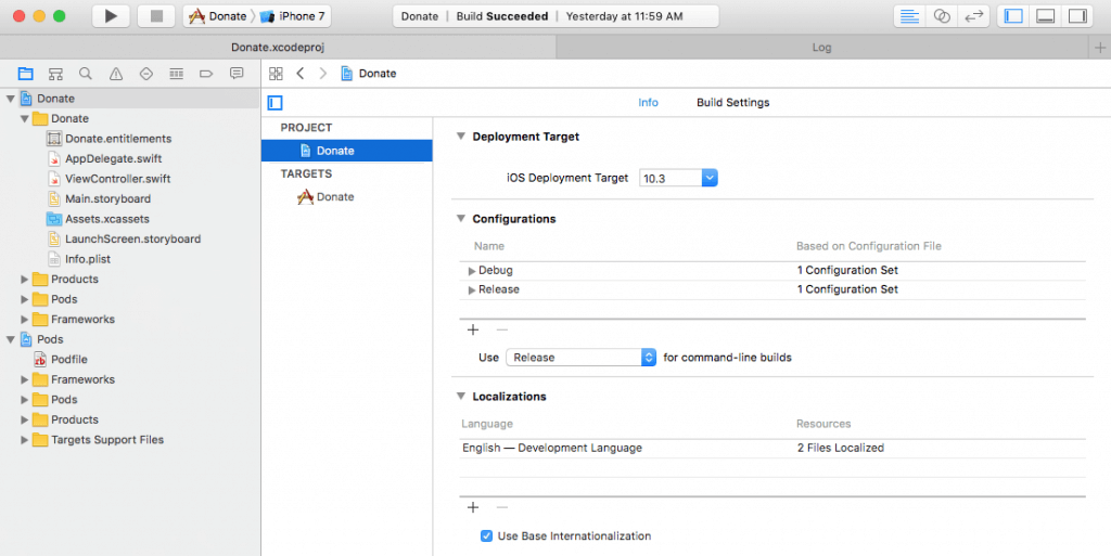 Using Xcode Configuration (.xcconfig) to Manage Different Build Settings 1