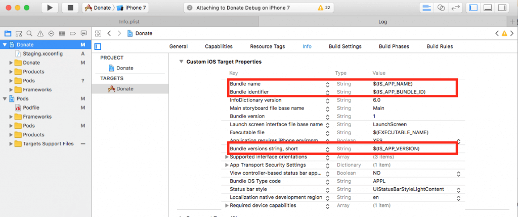 Using Xcode Configuration ( xcconfig) to Manage Different Build Settings