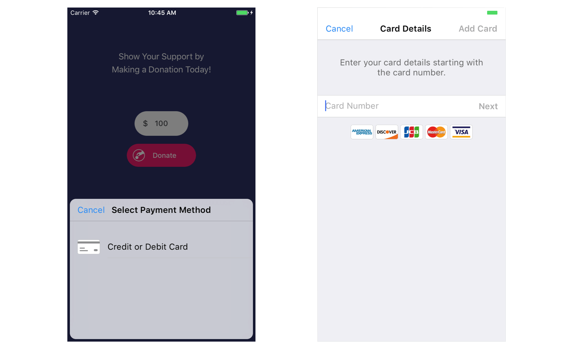 Using Braintree to Accept Credit Card Payment in iOS Apps | Swift
