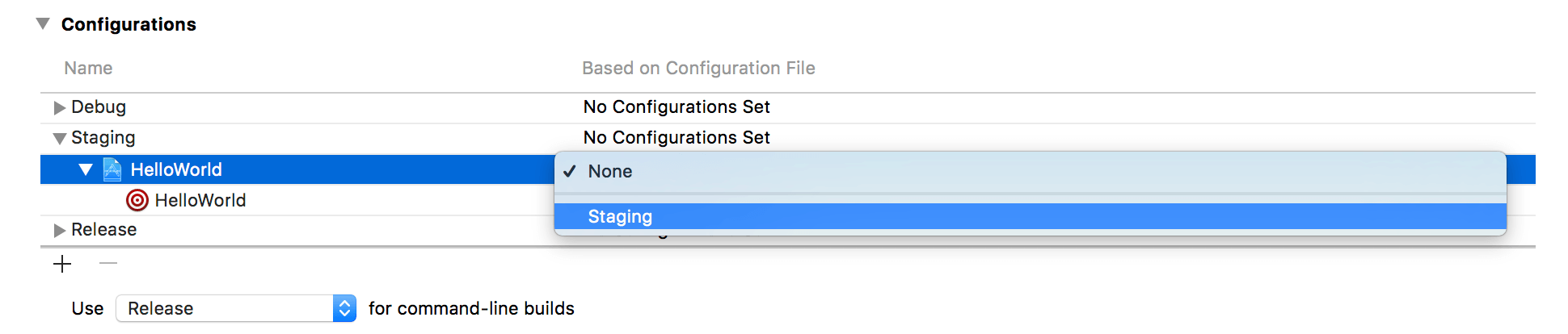 Using Xcode Configuration ( xcconfig) to Manage Different
