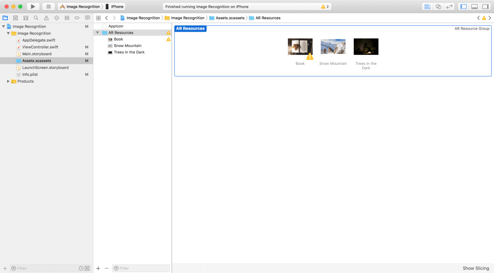 Xcode image asset