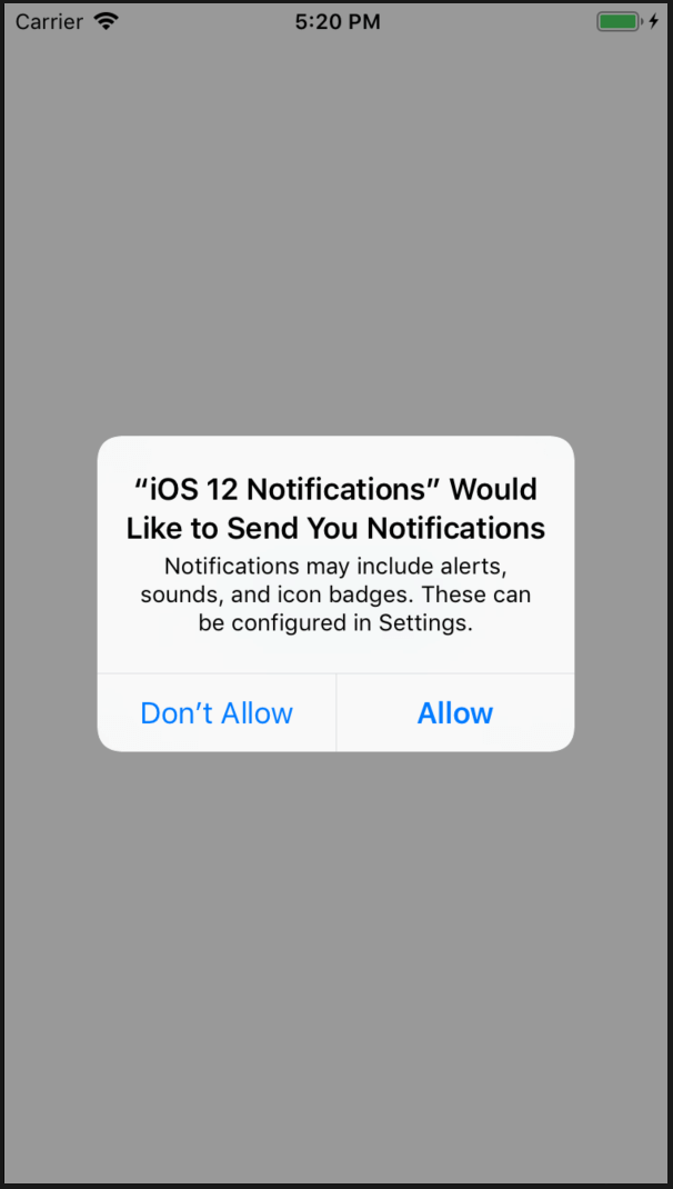 New in iOS 12: Adding a Custom UI and Interactivity in Local and Push Notifications 2