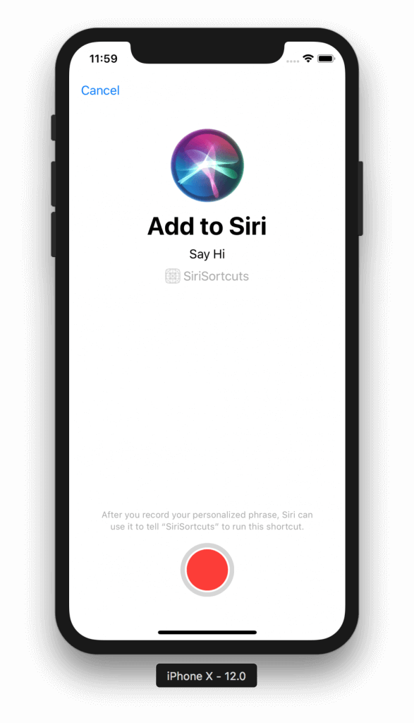 Introduction to Siri Shortcuts in iOS 12 6