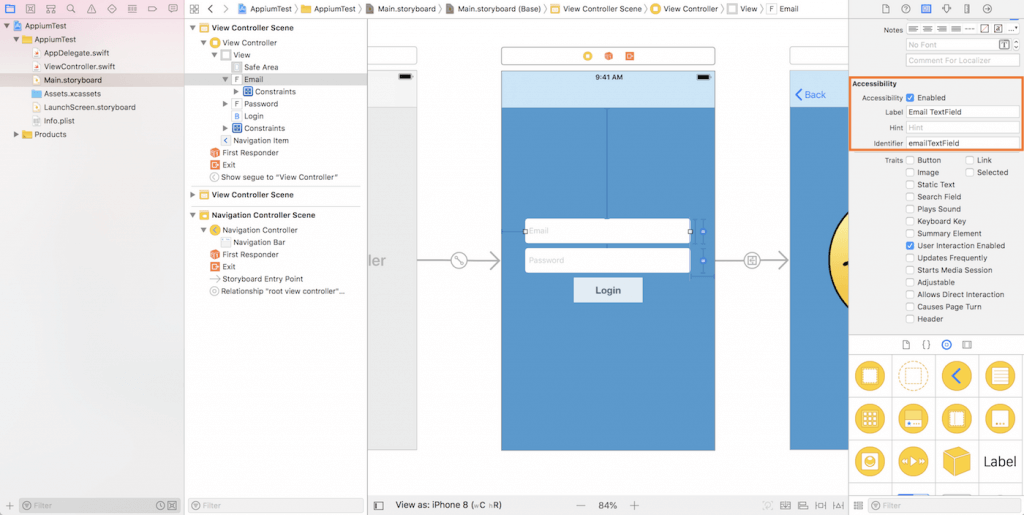 xcode-project-ib-accessbility