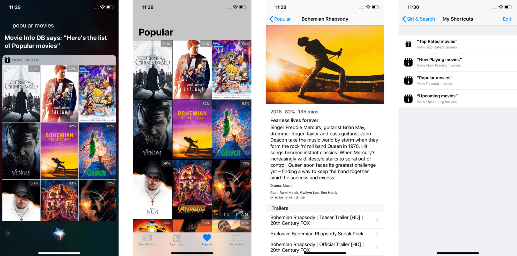 Siri Shortcuts API: Building a Voice App for Movie Search
