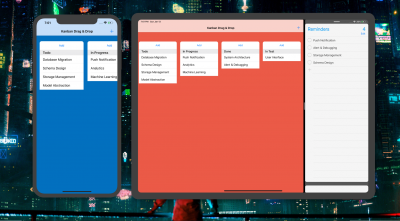 Building a Trello-like iOS App with Drag & Drop API