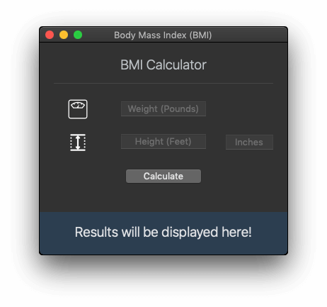 macOS Programming: Working with Dark Theme and Building a BMI Calculator 2
