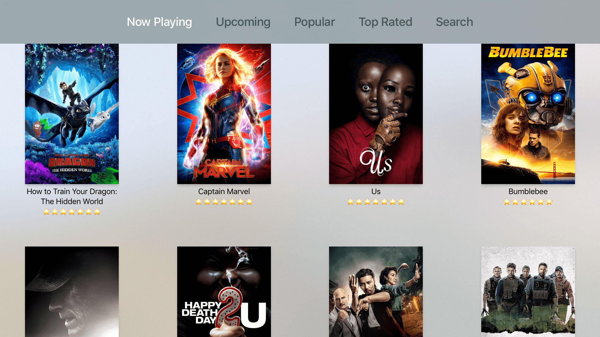 Building tvOS Movie Database App using The Movie Database (TMDb) API 1