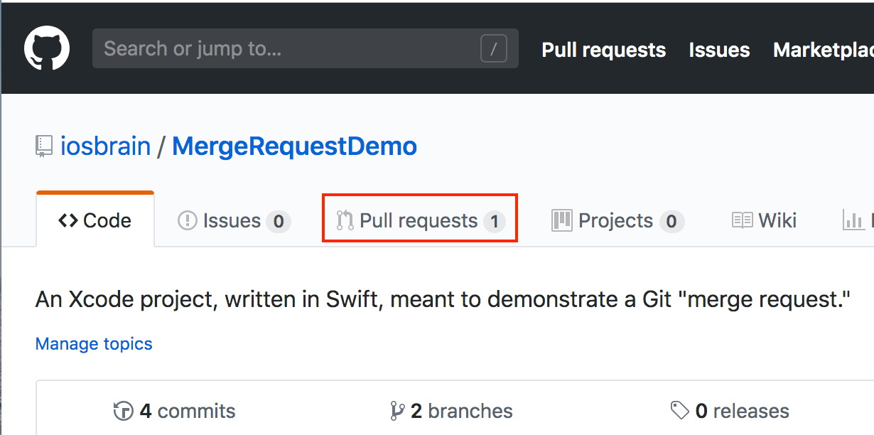Checking pull requests