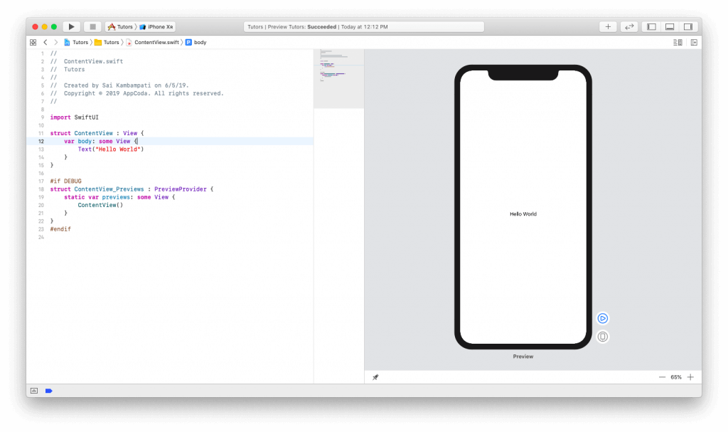 SwiftUI First Look: Building a Simple Table View App 2