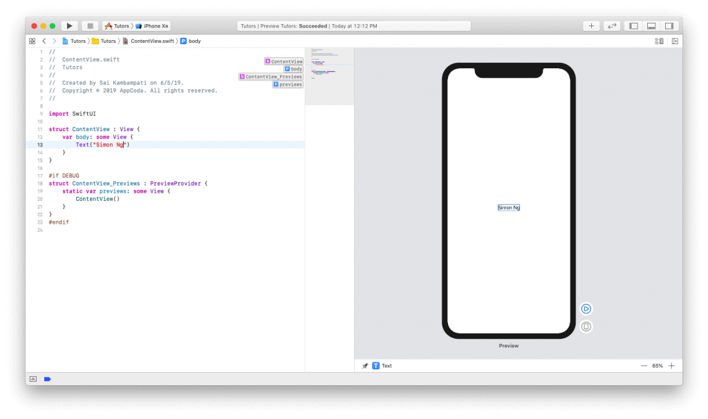 SwiftUI First Look: Building a Simple Table View App 3