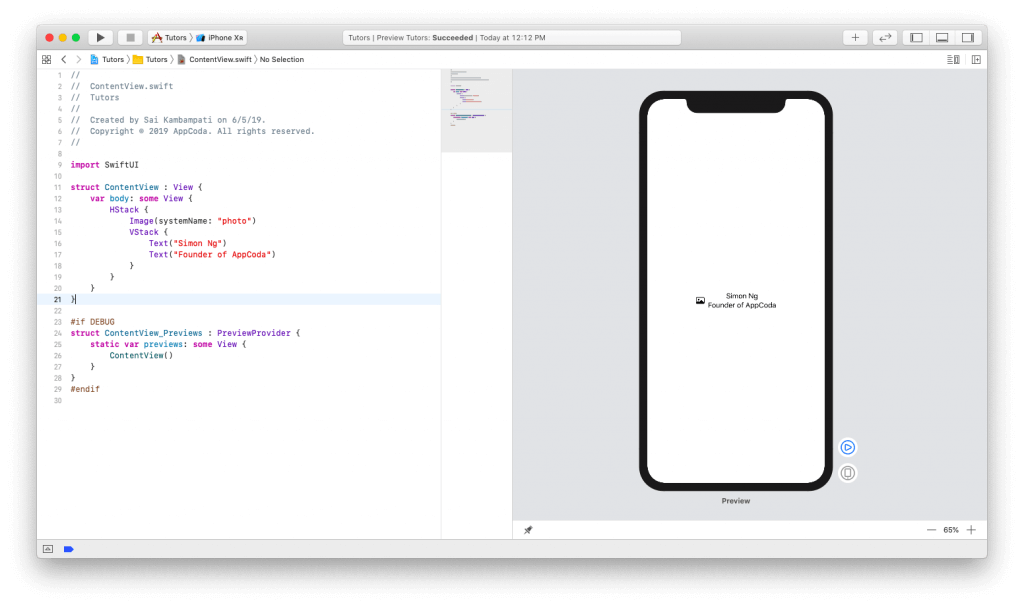 SwiftUI First Look: Building a Simple Table View App 6