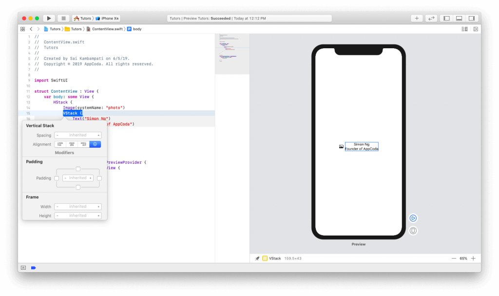 SwiftUI First Look: Building a Simple Table View App 7