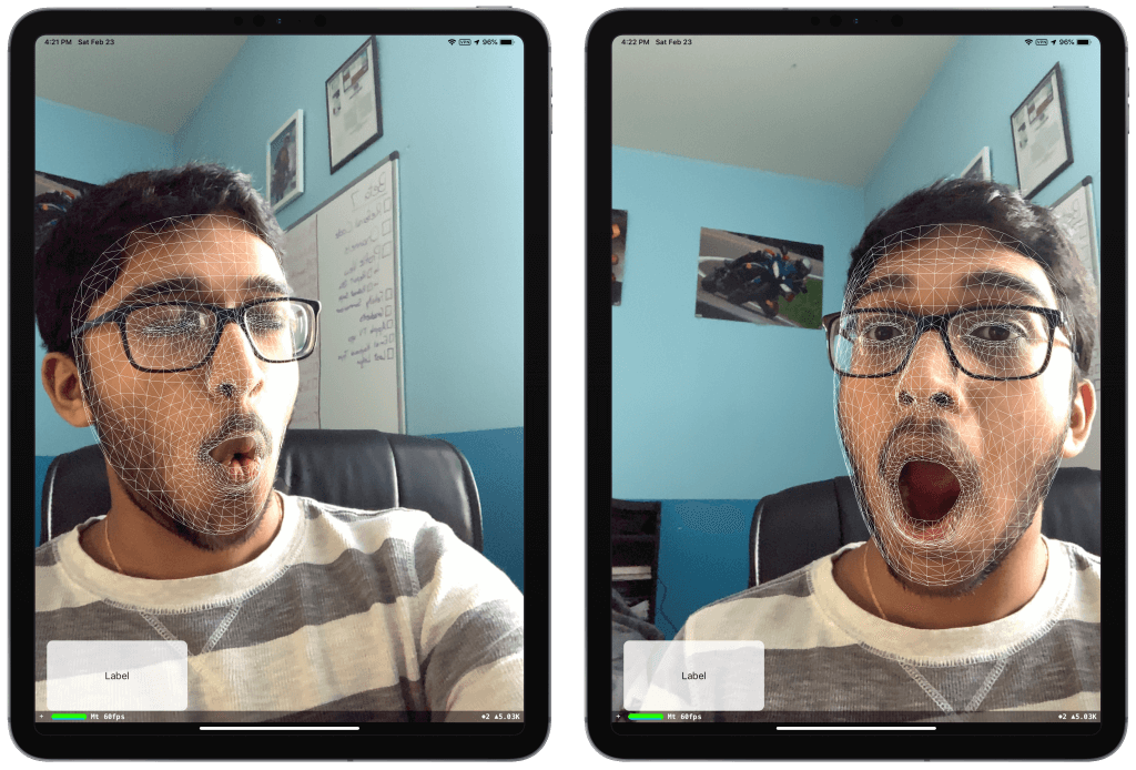 How to Detect and Track the User's Face Using ARKit 11