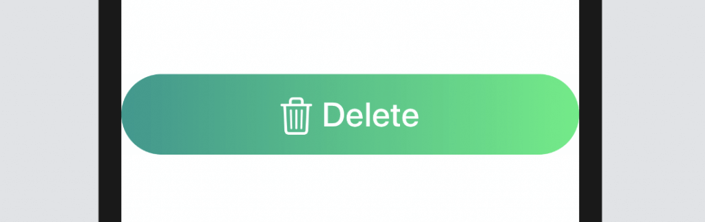 A full width SwiftUI button