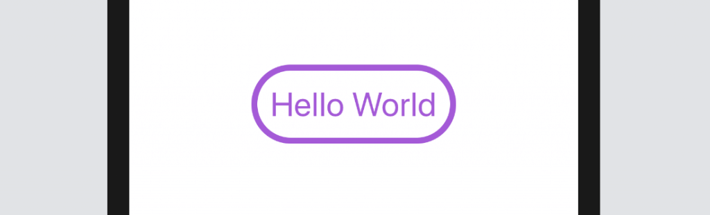 rounded border button - swiftui