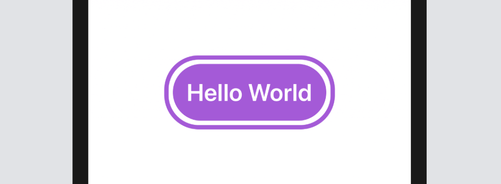 Button with rounded corners - SwiftUI