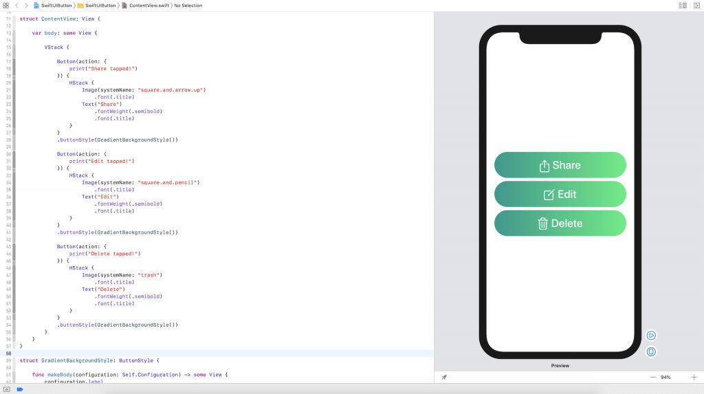 Xcode-11-swiftui-button-style