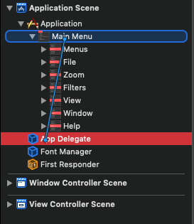 macOS Programming: Using Menus and the Toolbar 16