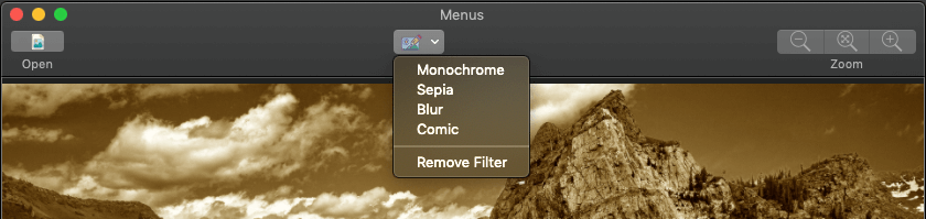 macOS Programming: Using Menus and the Toolbar 29