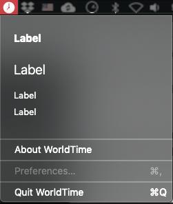 Custom view in macOS programming