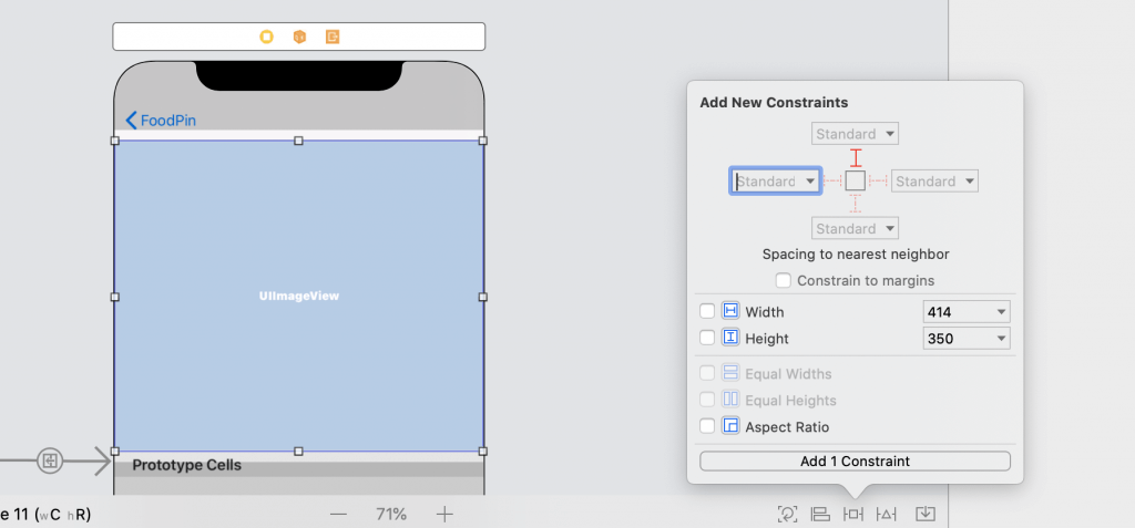 Unable to Set Layout Constraint to Zero in Xcode 11.3 1