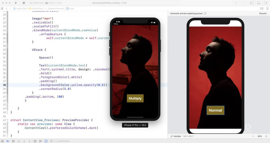 Xcode-swiftui-app-blend-mode