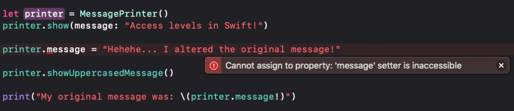 A Beginner's Guide to Access Levels in Swift 4