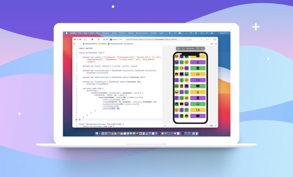 swiftui-grid-layout-lazyvgrid