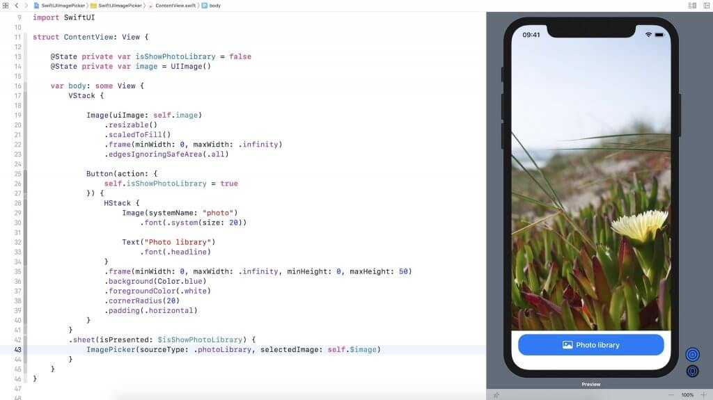 swiftui-image-picker-load-photo