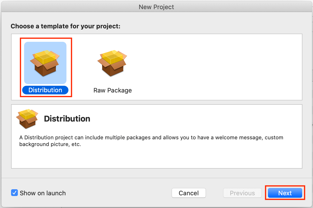 packages-project