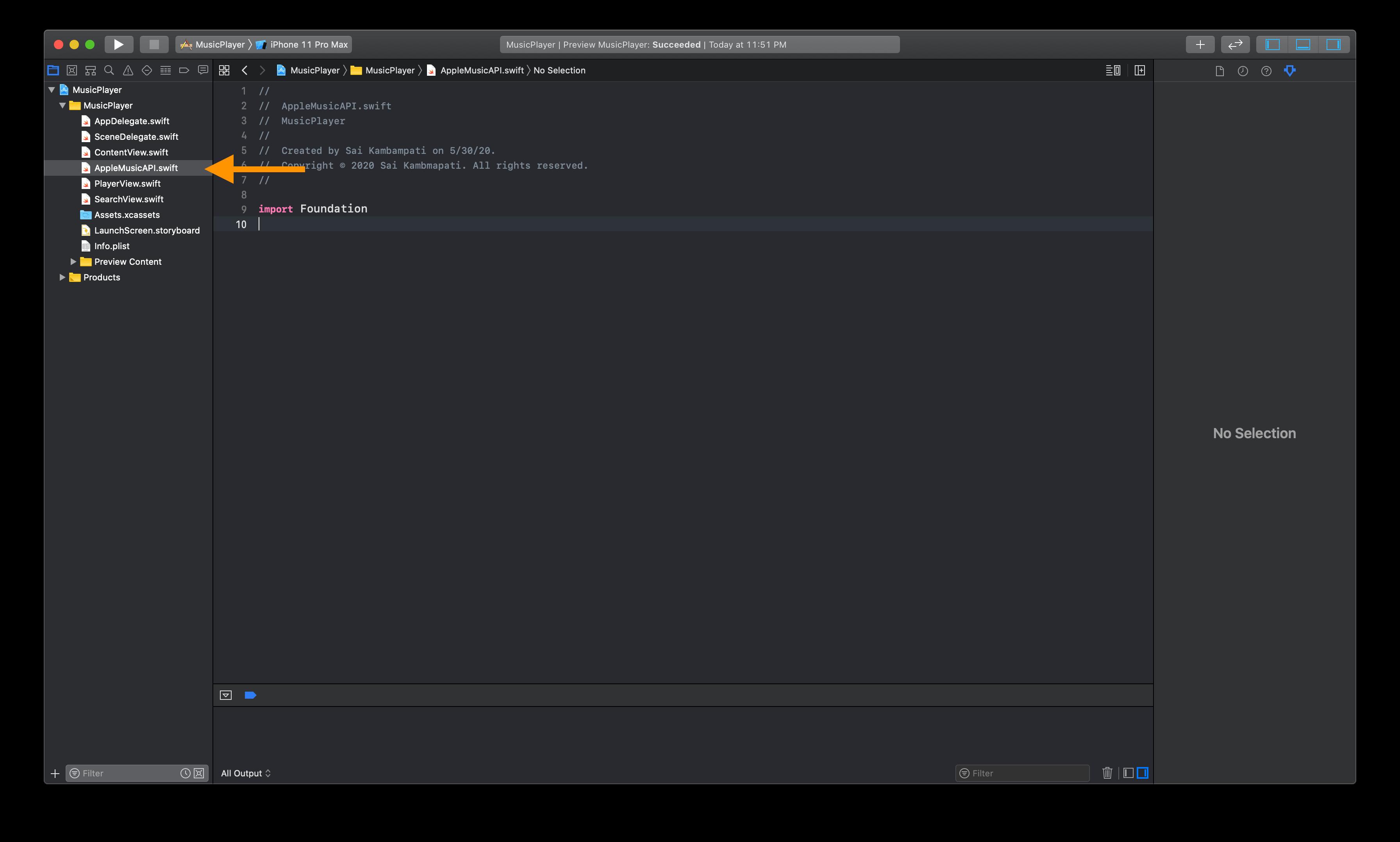 musickit-api-xcode